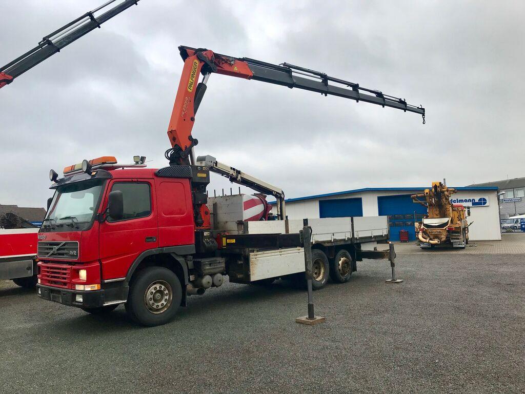 bortinis sunkvežimis VOLVO FM 12 62 RB 6X2 Palfinger Kran / Crane PK 29002