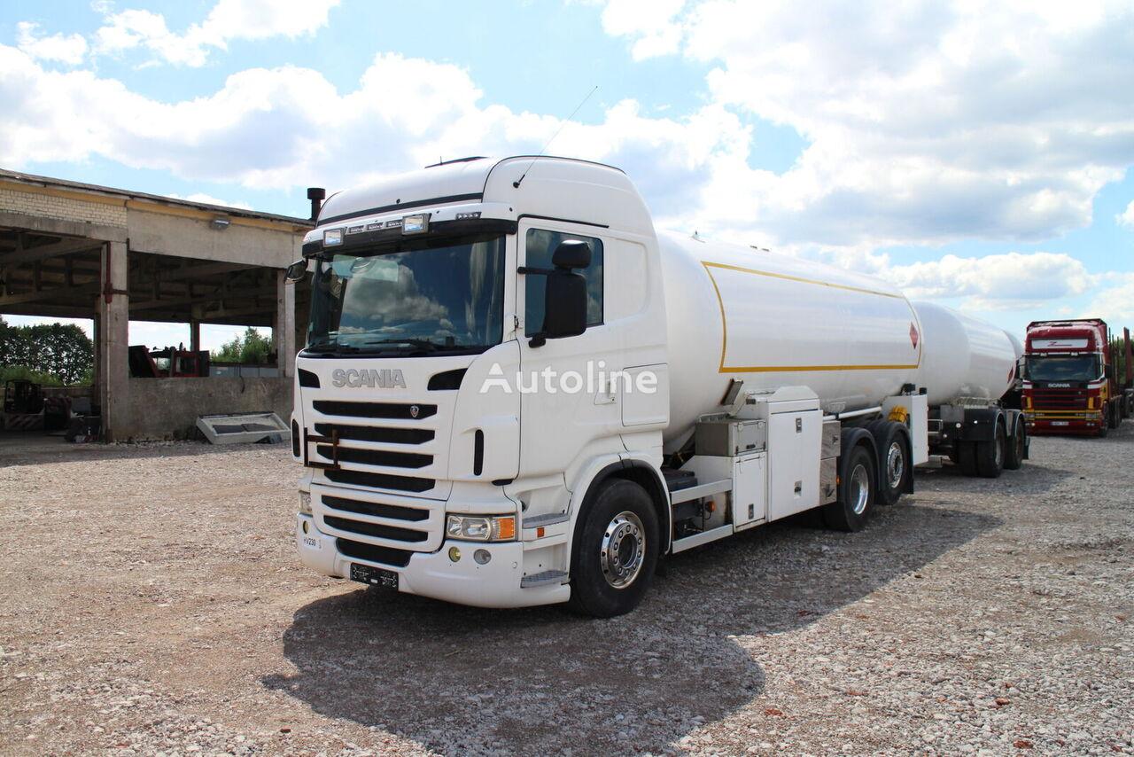 dujovežis sunkvežimis SCANIA R480,