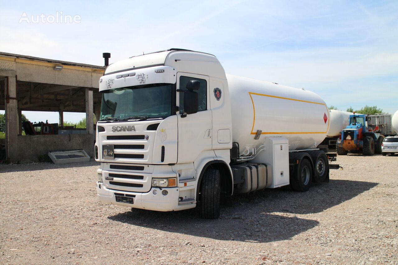 dujovežis sunkvežimis SCANIA R480