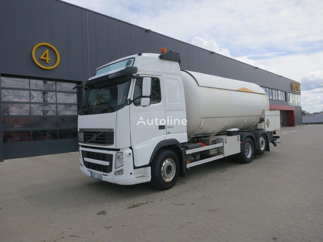dujovežis sunkvežimis VOLVO FH 13.500, 26 000 liter. ADR