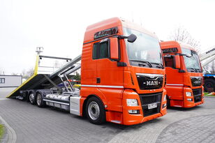 evakuatorius sunkvežimis MAN TGX 26.440 XXL , E6 , 6X2 , NEW BODY 7,5m , hydraulic , 2x winch