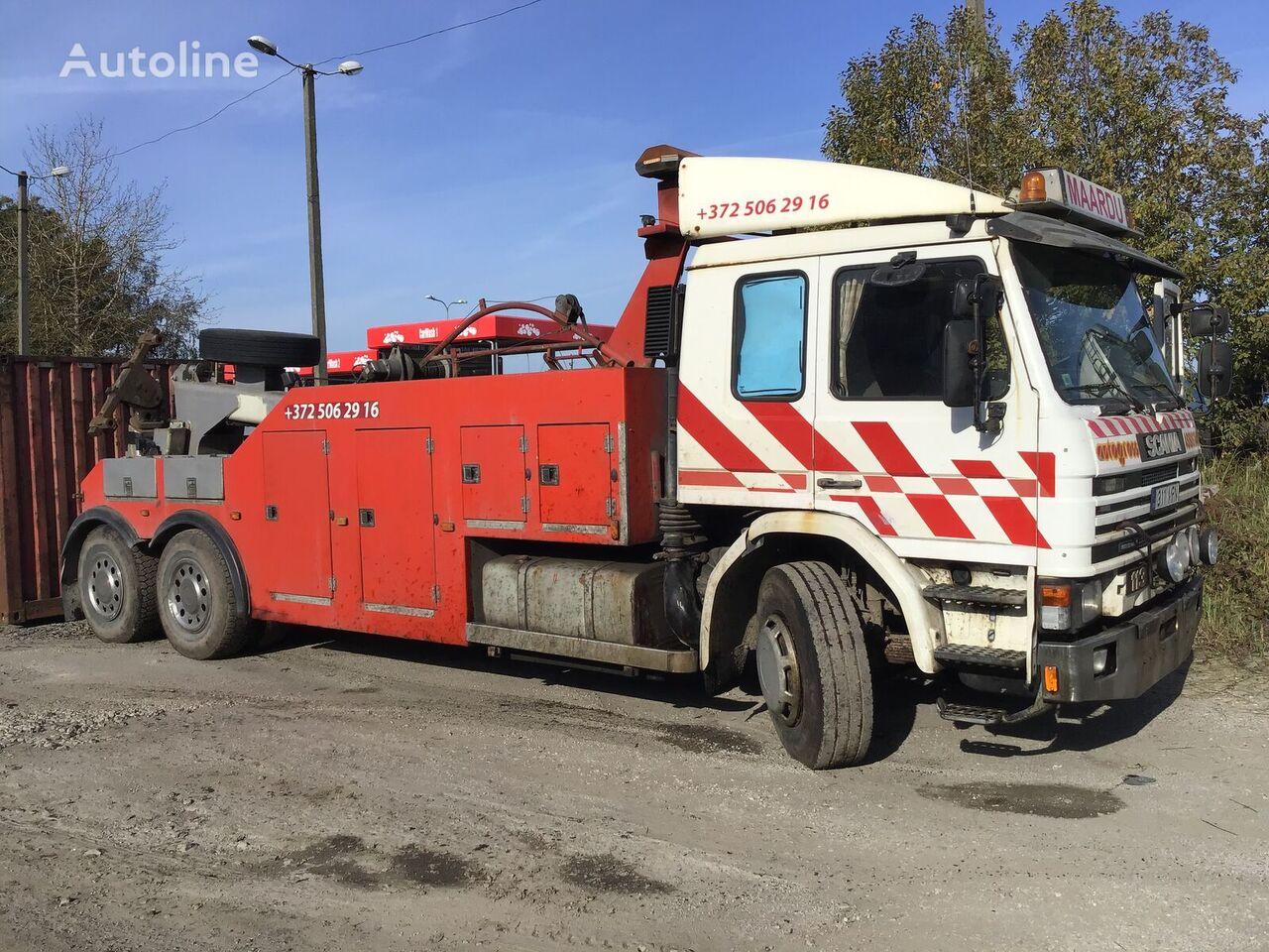 evakuatorius sunkvežimis SCANIA 113
