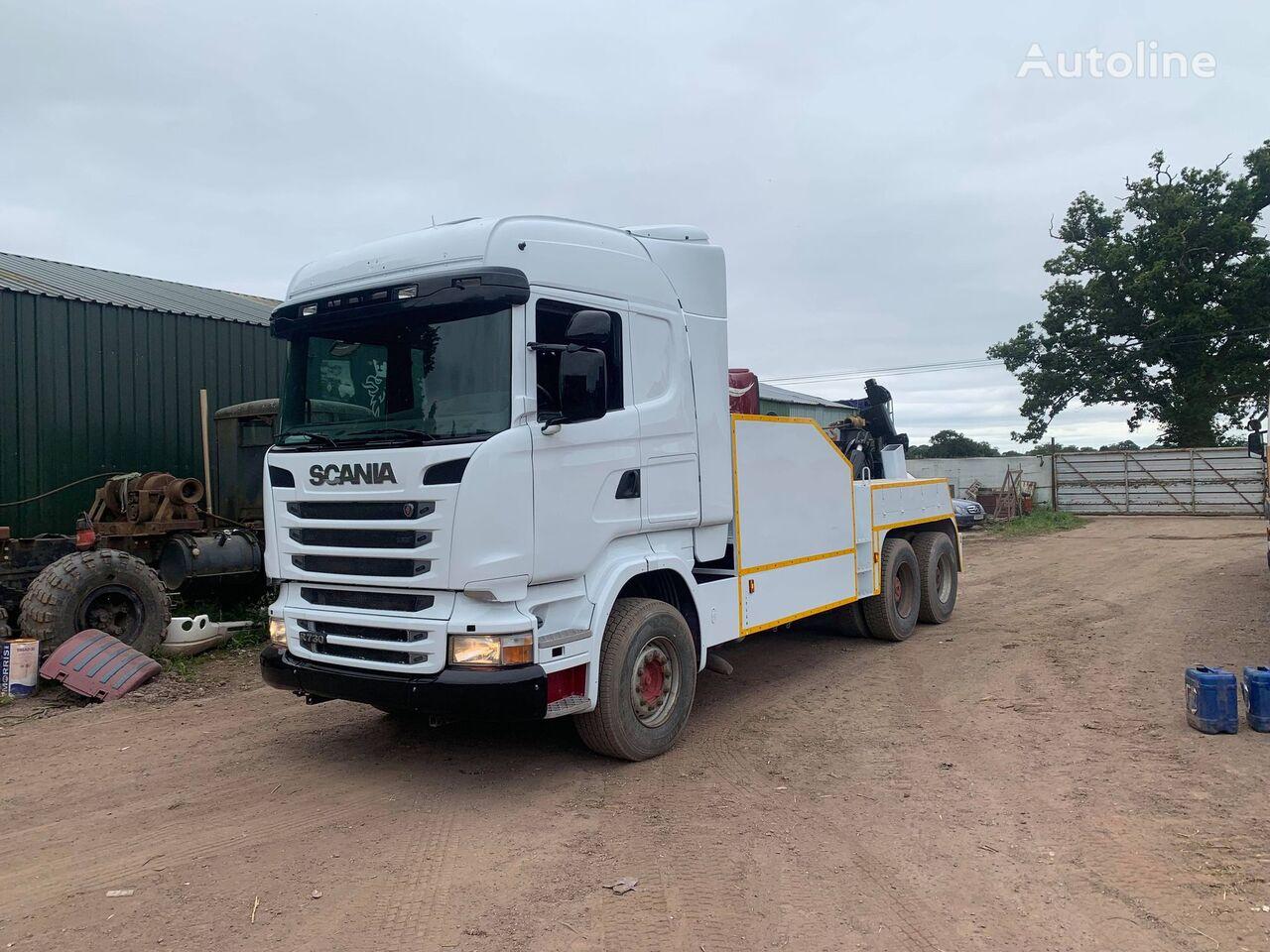 evakuatorius sunkvežimis SCANIA R730