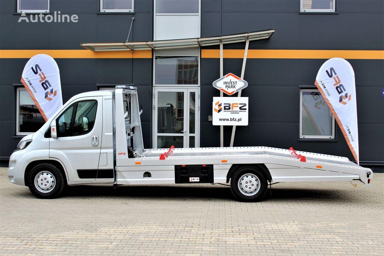 naujas evakuatorius sunkvežimis FIAT Ducato Maxi NAVI, LUFTFEDERUNG