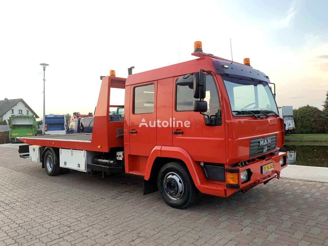 evakuatorius sunkvežimis MAN TGL 12.185 Płyta hydrauliczna