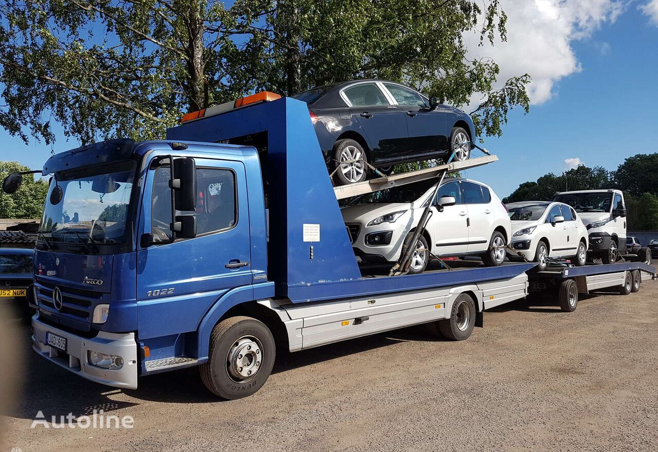 evakuatorius sunkvežimis TECHNINE pagalba kelyje