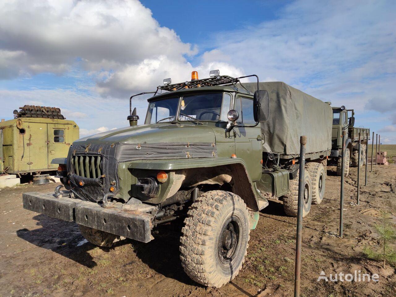 evakuatorius sunkvežimis URAL 4320, 6x6, kamaz diesel engine