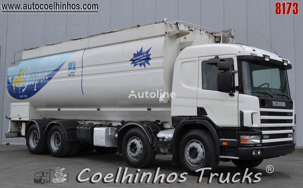 grūdovežis sunkvežimis SCANIA 114G 380