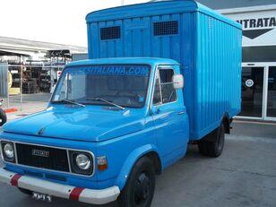 gyvulių pervežimo sunkvežimis FIAT 616 N3/4 TRASPORTO BESTIAME ANIMALI VIVI