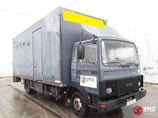 gyvulių pervežimo sunkvežimis IVECO Magirus 80 16 horse truck