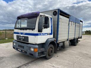 gyvulių pervežimo sunkvežimis MAN 14.224 4x2 Animal transport