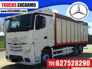 gyvulių pervežimo sunkvežimis MERCEDES-BENZ ACTROS 25 45