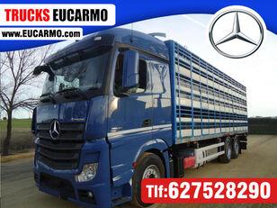 gyvulių pervežimo sunkvežimis MERCEDES-BENZ ACTROS 2545