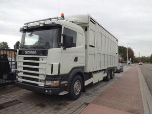 gyvulių pervežimo sunkvežimis SCANIA 164G 480