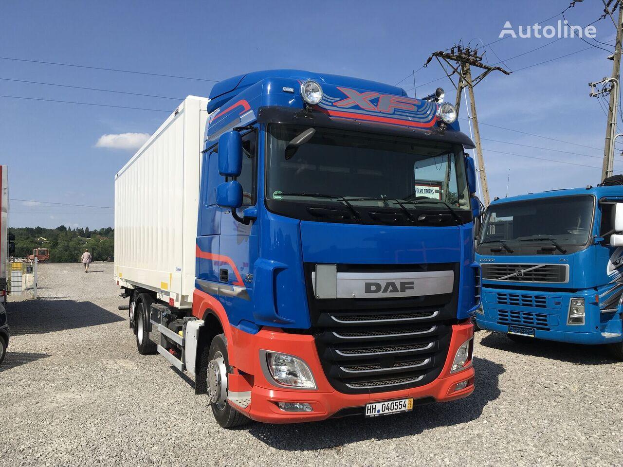 izoterminis sunkvežimis DAF XF 106.440 E6 105 kontener 6x2 , Super stan