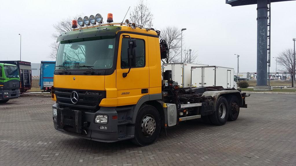 kabelių sistema sunkvežimis MERCEDES-BENZ 2532 ACTROS HIAB 085 ABROL