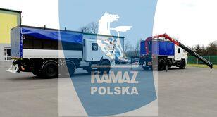 naujas kariuomenės sunkvežimis KAMAZ 6x6 SERWISOWO-WARSZTATOWY