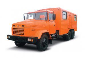 naujas kariuomenės sunkvežimis KRAZ 65053 мастерская