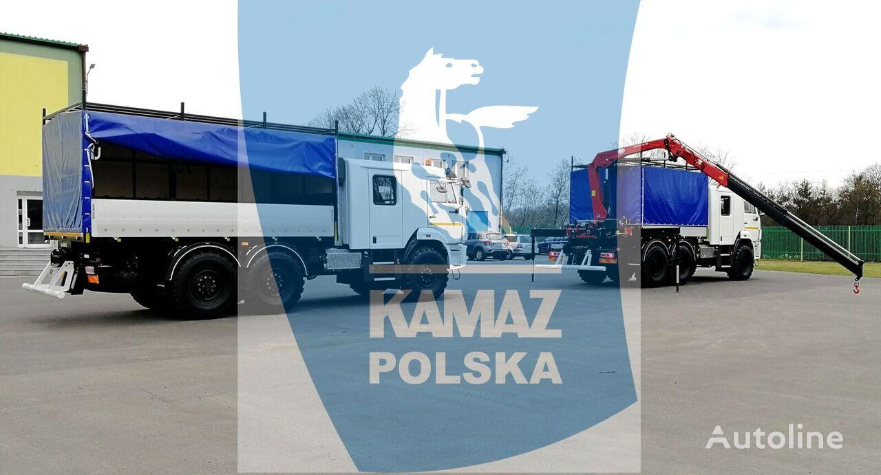 naujas kariuomenės sunkvežimis KAMAZ SERVICE CAR