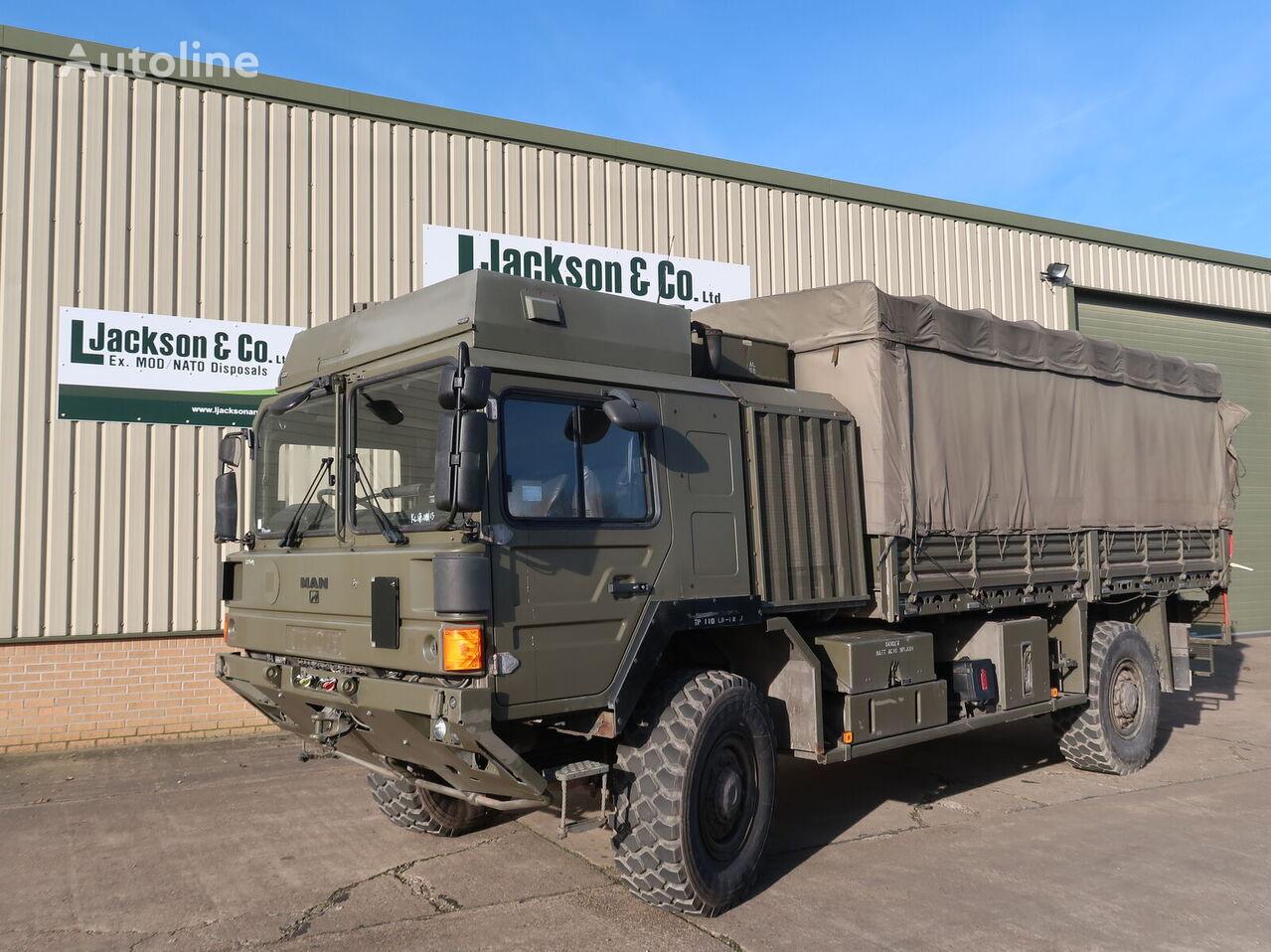 kariuomenės sunkvežimis MAN HX60 18.330 4x4 Army Truck