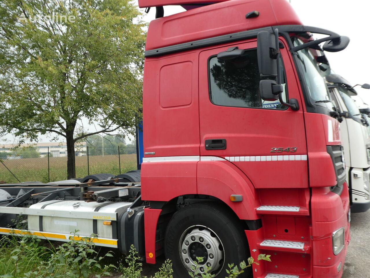 konteinervežis sunkvežimis MERCEDES-BENZ ACTROS 2543 E5 CONTAINER