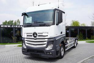 konteinervežis sunkvežimis MERCEDES-BENZ Actros 2543 , E6 , 6X2 , BDF , chassis 7,2m , wheelbase 4,9m , r