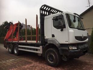 miškovežis sunkvežimis RENAULT Kerax 450 DXI