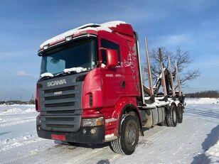 miškovežis sunkvežimis SCANIA R-420