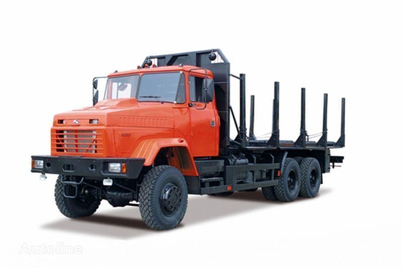 naujas miškovežis sunkvežimis KRAZ 6233M6