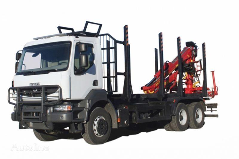 naujas miškovežis sunkvežimis KRAZ M19.2R