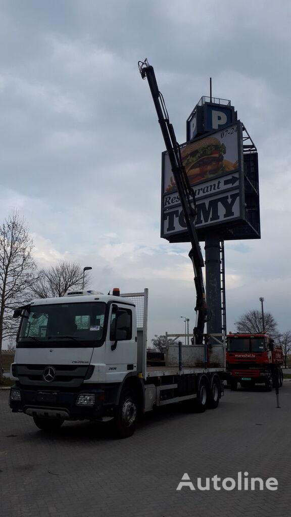 miškovežis sunkvežimis MERCEDES-BENZ 2636 / EU BREIF