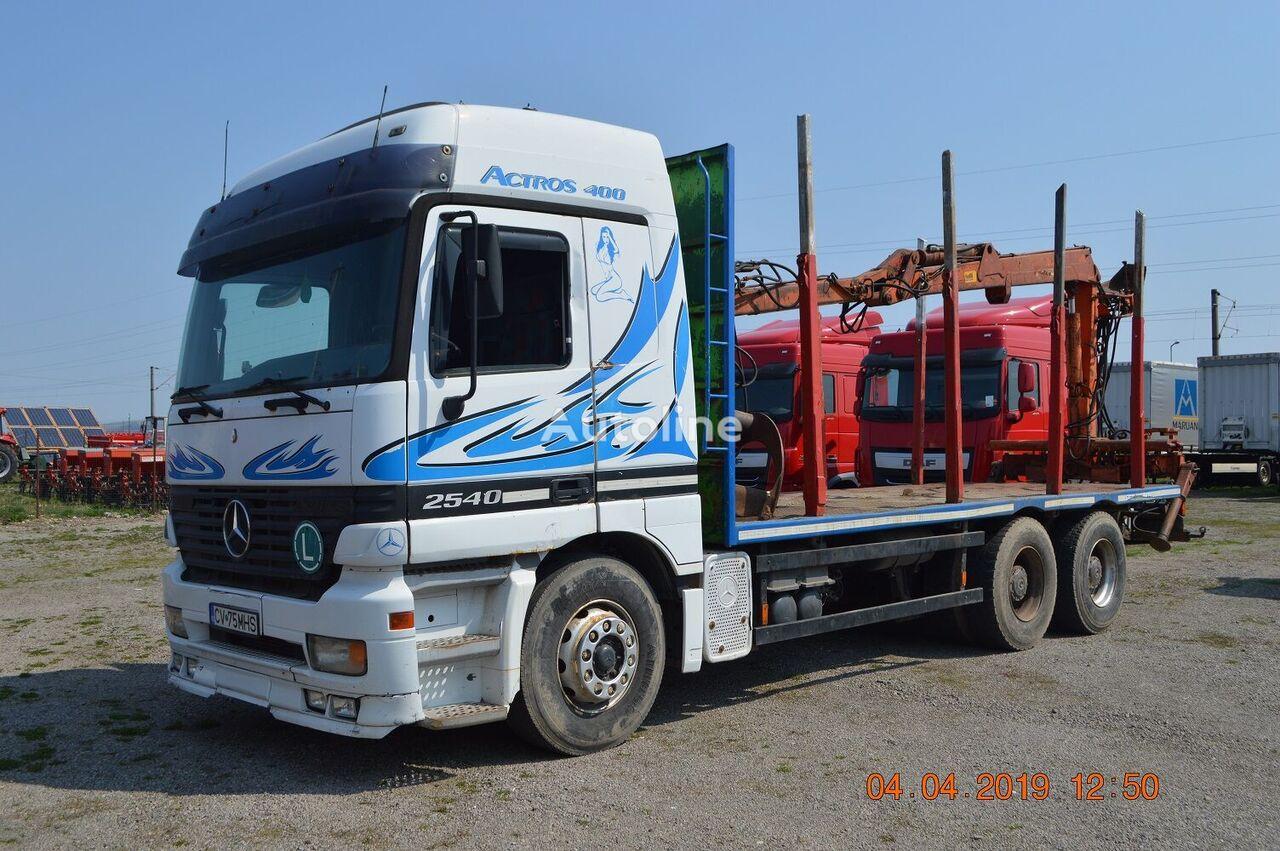 miškovežis sunkvežimis MERCEDES-BENZ ACTROS 2540