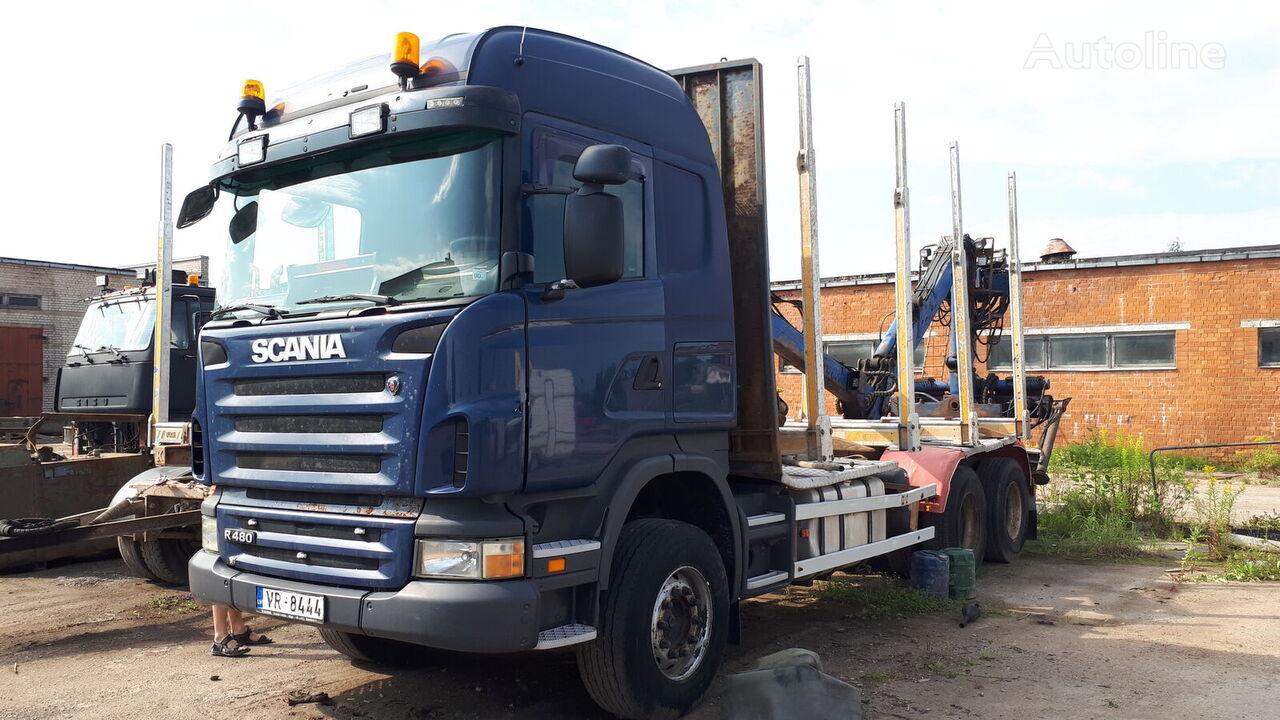 miškovežis sunkvežimis SCANIA R480