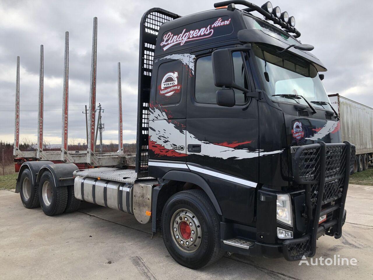 miškovežis sunkvežimis VOLVO FH13 540 6X4