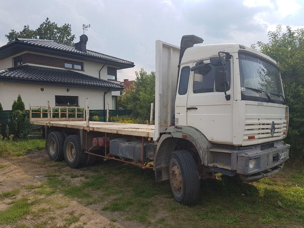 platforma sunkvežimis RENAULT G300 6x4 Steel/Steel (G340/Maxter/Magnum/Major/385/420/430)