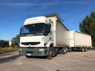 prekybinis sunkvežimis RENAULT PREMIUM 420 DCI + biga Omar