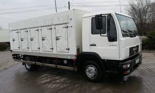 šaldytuvas ledams vežti sunkvežimis MAN le 10.180