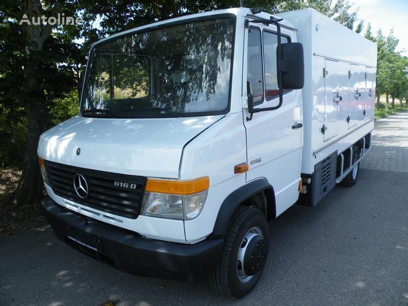 šaldytuvas ledams vežti sunkvežimis MERCEDES-BENZ 616D Eis/Ice -33°C Cold Car BlueTec Euro-5