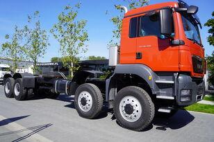 šasi sunkvežimis MAN TGS 41.480 8x6 BB / EURO 5 / FACTORY NEW