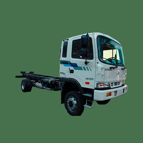 naujas šasi sunkvežimis HYUNDAI HD120 4WD