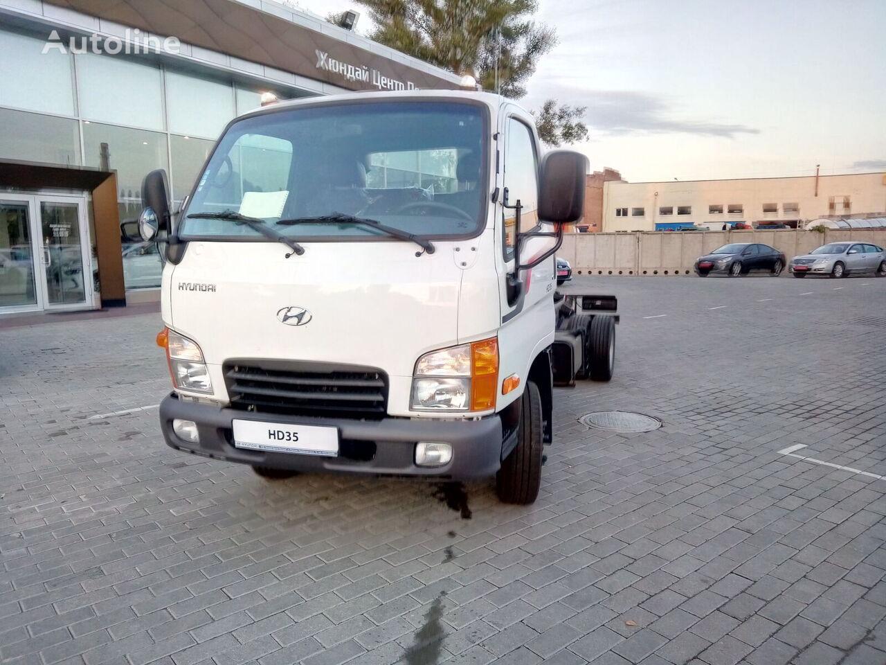 naujas šasi sunkvežimis HYUNDAI HD35