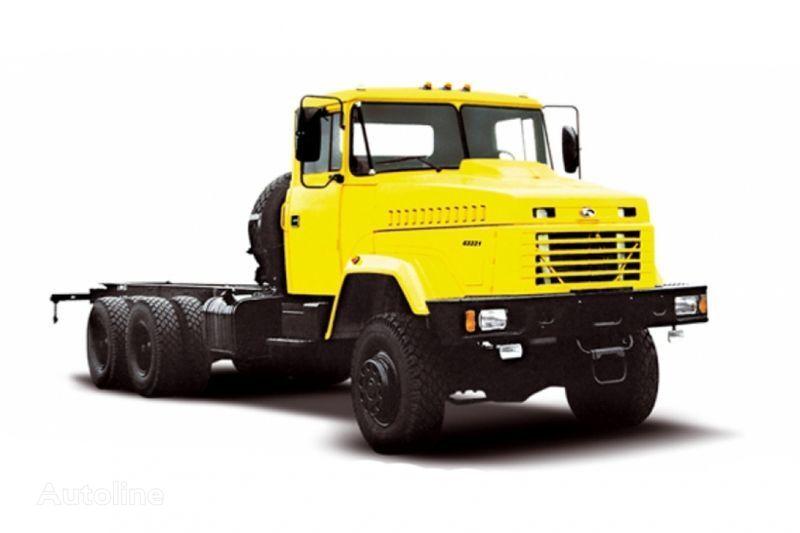 naujas šasi sunkvežimis KRAZ 63221 tip 2