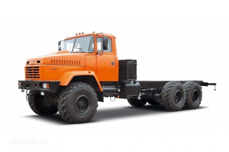 naujas šasi sunkvežimis KRAZ 63221 tip 3