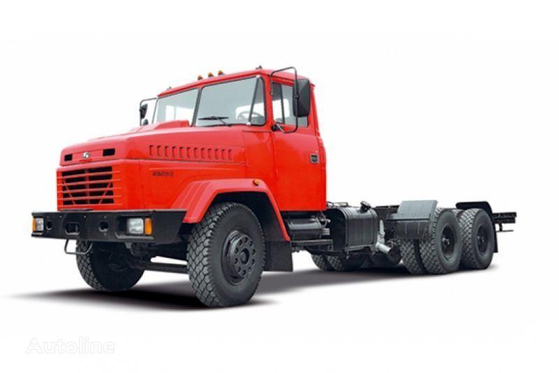 naujas šasi sunkvežimis KRAZ 65053