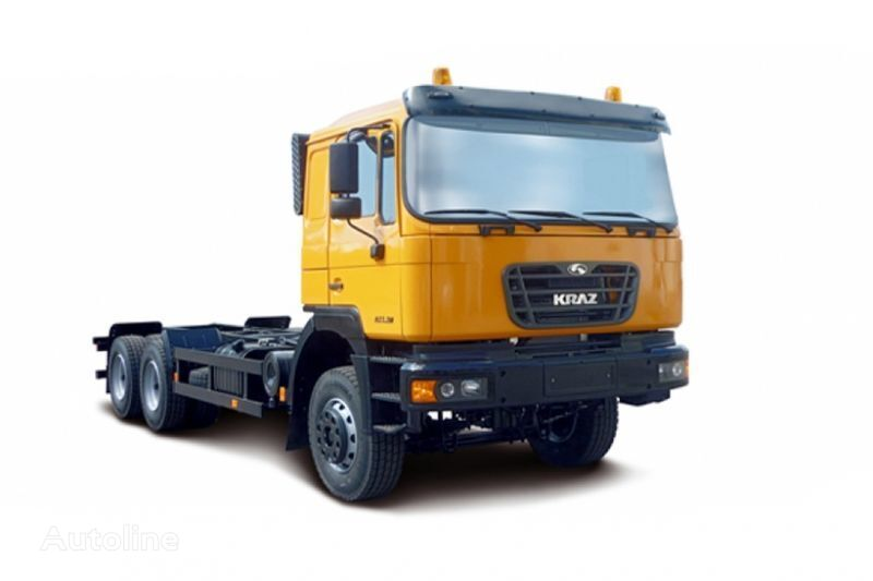 naujas šasi sunkvežimis KRAZ H23.2M