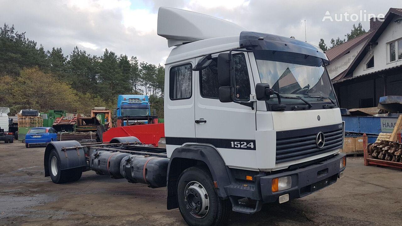 šasi sunkvežimis MERCEDES-BENZ LK 1524 6 cylinder/Manual (1120/1320/1520/1324/1820)