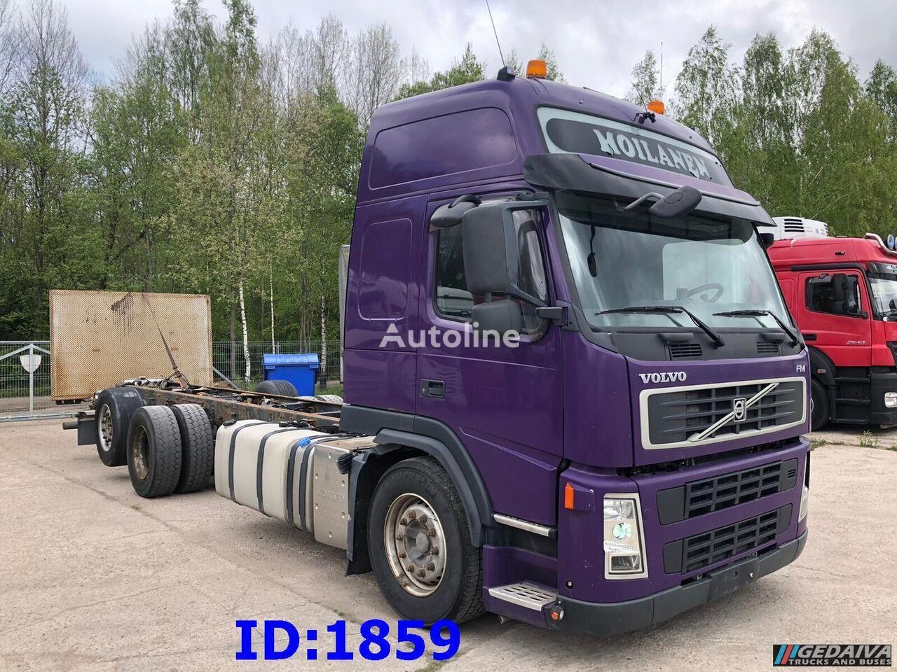 šasi sunkvežimis VOLVO FM 450 6x2 Euro5 Manufacture 2010