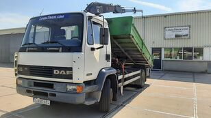 savivartis sunkvežimis DAF 55.180 Ti  6 Cylinders Euro 2 / HIAB 650 Rotator x 4
