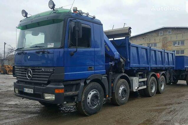 savivartis sunkvežimis MERCEDES-BENZ Actros 4140