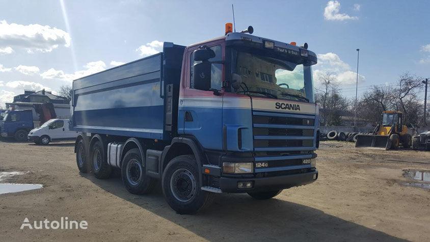 savivartis sunkvežimis SCANIA R 124